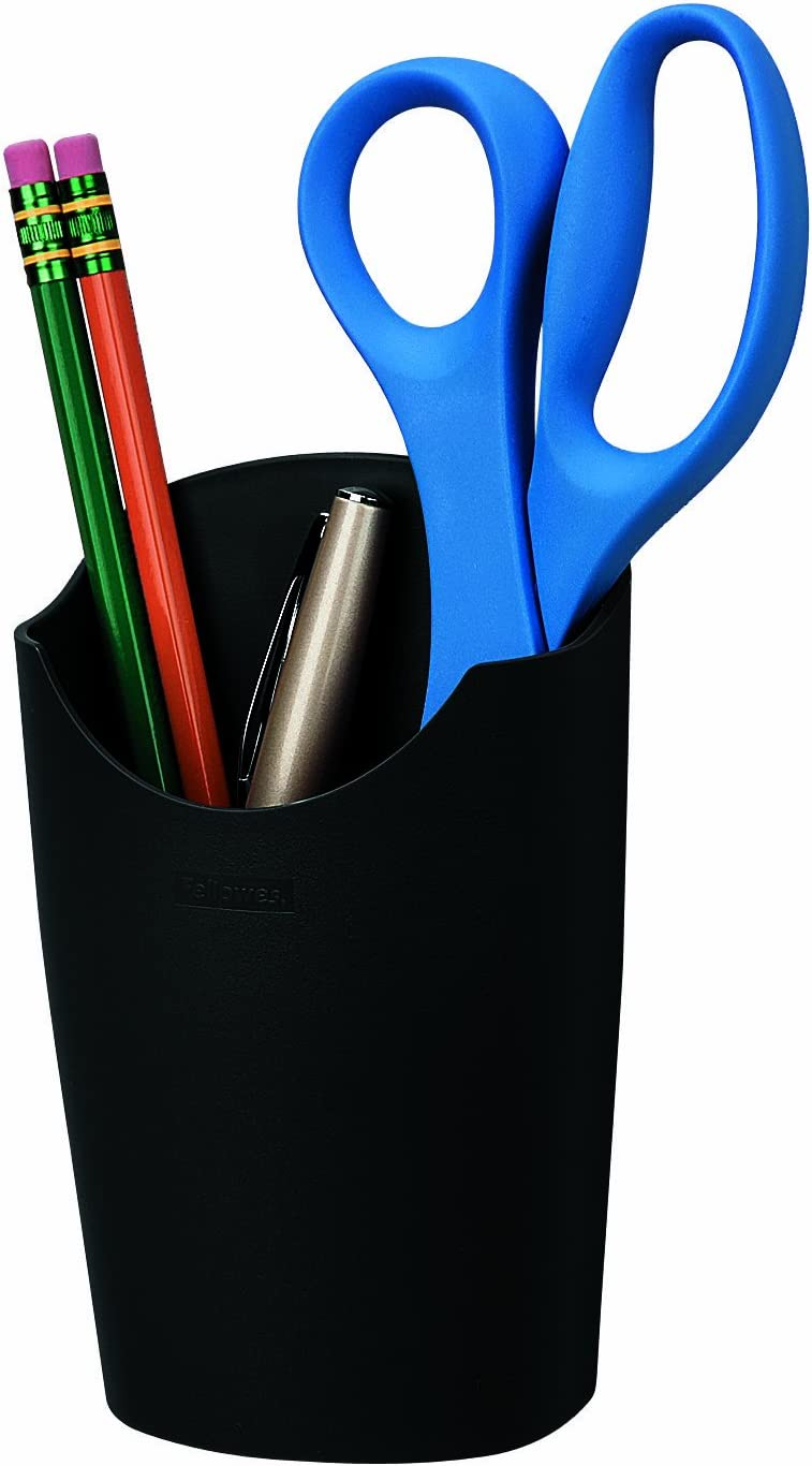 Fellowes Partition Additions Pencil Cup Dark Graphite 75272 Amazon Ca Office Products