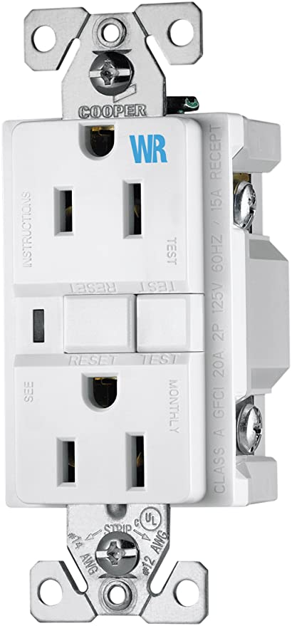 EATON Wiring WRVGF15V 15 Amp 125V Duplex GFCI Receptacle ... on receptacles wiring, electrical conduit, electrical wiring, power cord, conduit wiring, plumbing wiring, junction box, earthing system, 3 phase breaker panel wiring, circuit wiring, circuit breaker, afci wiring, electric motor, duplex wiring, electric power distribution, amp wiring, distribution board, knob-and-tube wiring, dimmer wiring, daisy chain wiring, alternating current, electricity wiring, 220 volt to 110 volt wiring, national electrical code, three-phase electric power, electrical engineering, diy wiring, timer wiring, wiring diagram, power cable, led wiring, ground and neutral, ground wiring, lutron wiring, hot tub wiring, low voltage wiring, extension cord,
