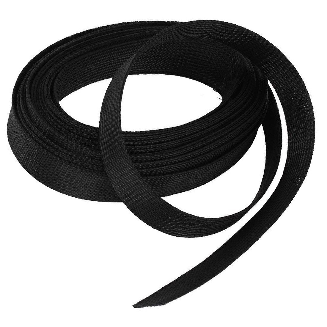 Größen ***Kabelschutz Schutz Schlauch 1m Gewebeschlauch Nylon versch