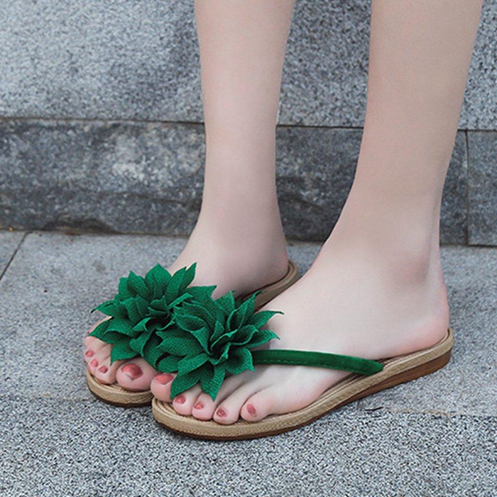 GIY Womens Ladies Flip Flops Slippers Anti-Slip Slip On Dressy Thongs Summer Beach Casual Flat Sandals by GIY (Image #2)
