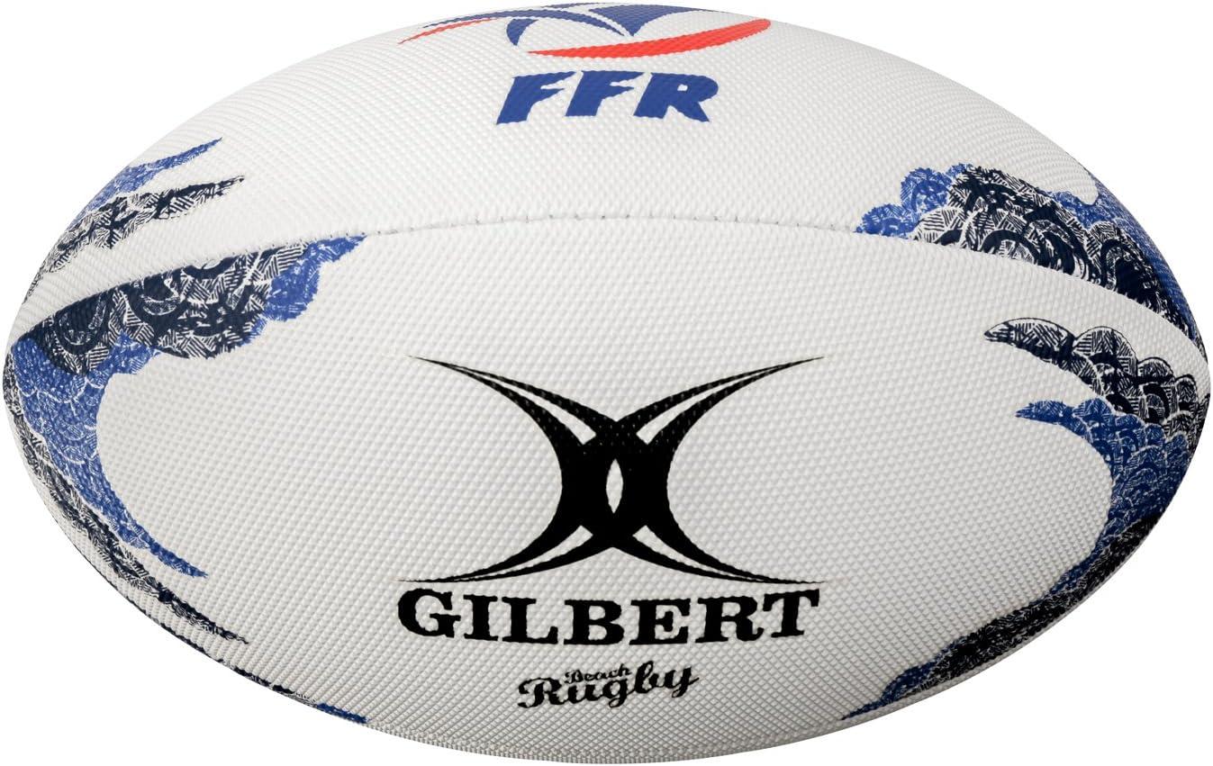 Beach-Balón de rugby Gilbert Francia, color - MULTICOLOR, tamaño ...