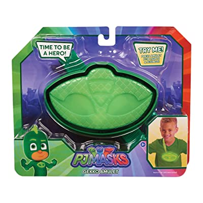 Flair JPL24953 PJ Masks Light and Sounds Amulet, Gekko Green: Toys & Games