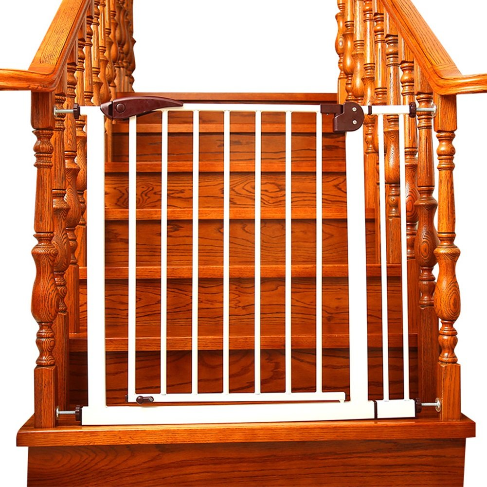 【楽天カード分割】 簡単に閉じるエクストラワイドメタルベビーゲート白いペットドアは階段の出入口に65124cmの幅と76cmの高さにフィット ( サイズ さいず : サイズ 75-82cm さいず ) ( 75-82cm B07CNG42C7, チトセシ:e0b3ed8d --- a0267596.xsph.ru