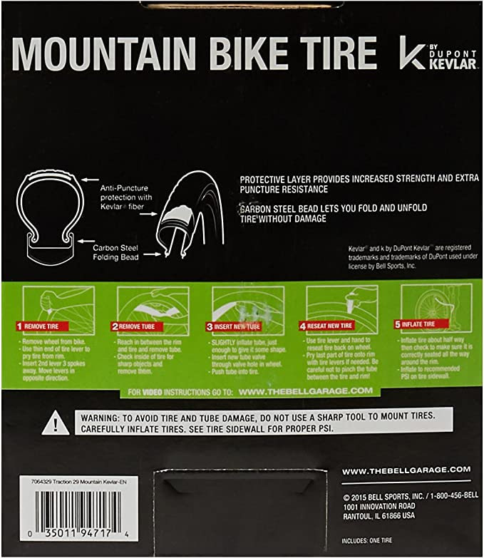"NEW MTB Knobby Mountain Bike Bicycle Tire 24/"" x 2.10/"" P-1001 All Black"