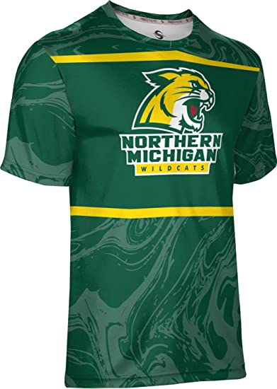 ProSphere Northern Michigan University Mens Performance T-Shirt Heather