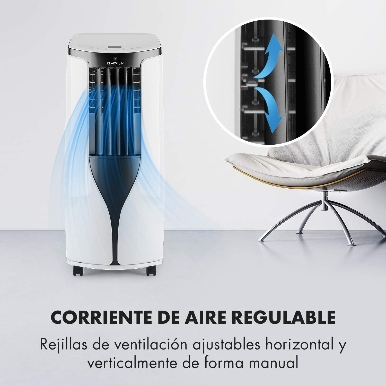 KLARSTEIN New Breeze Eco - Aire Acondicionado portátil, 10.000 BTU ...