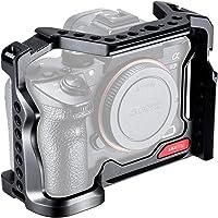 UURig A7R3 A7M3 klatka na aparat do Sony z otworami lokalizacyjnymi na zimno buta metalowa kamera Rig R063