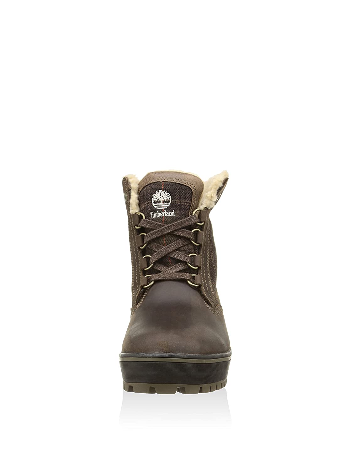 d7c5993faf9 Timberland Mens Spruce Mountain Waterproof Boot, Mulch FG with Plaid ...