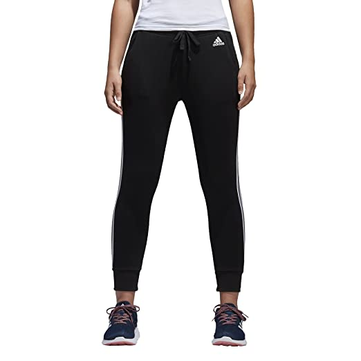 368ddf8c7ad6 adidas Women s Essentials 3-Stripes Tapered Pants at Amazon Women s ...