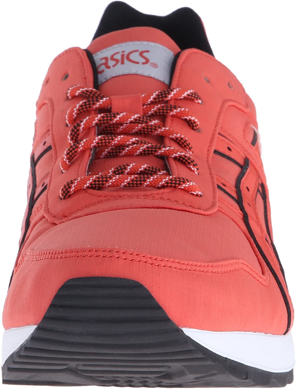 ASICS Mens GT-II Leather Trainers Chili