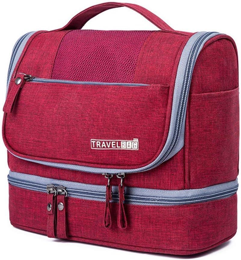 Estuche de cosméticos para el tren de viaje Bolsa de aseo de viaje para hombre, kit de Dopp para bolsa de viaje de aseo para hombres y mujeres Bolsa de almacenamiento para