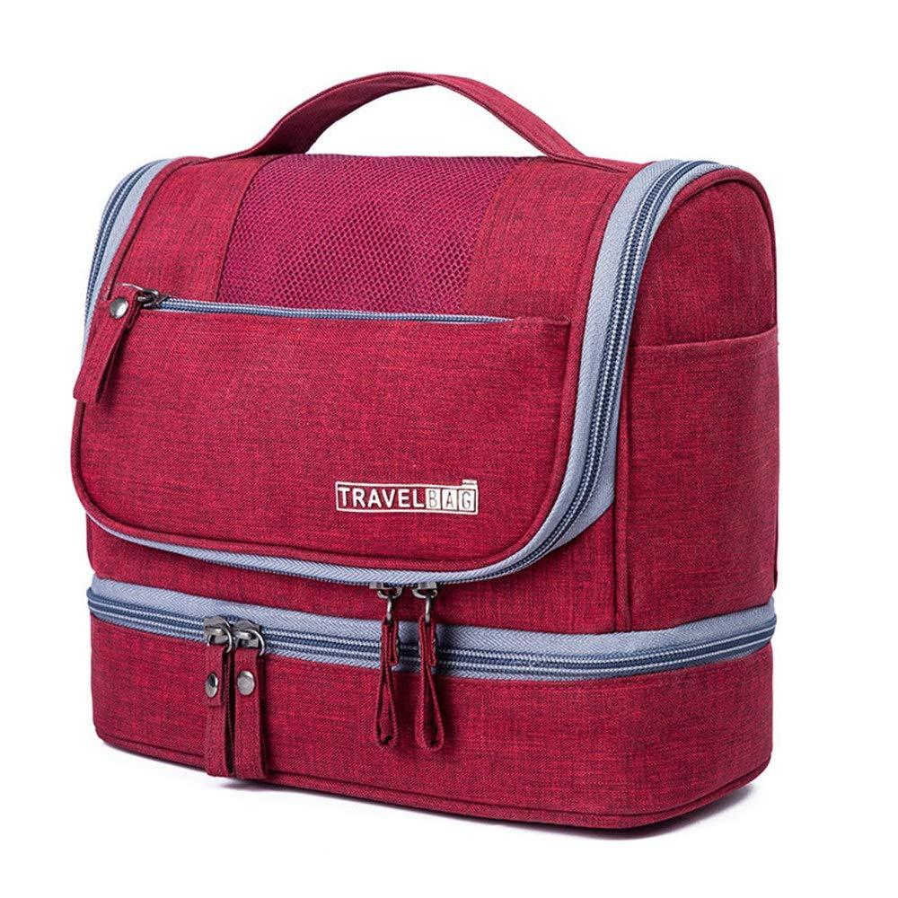 Asdflina multifunzione Borsa da viaggio da viaggio da uomo, borsa da viaggio da viaggio Dopp Kit per uomini e donne per adulti e bambini