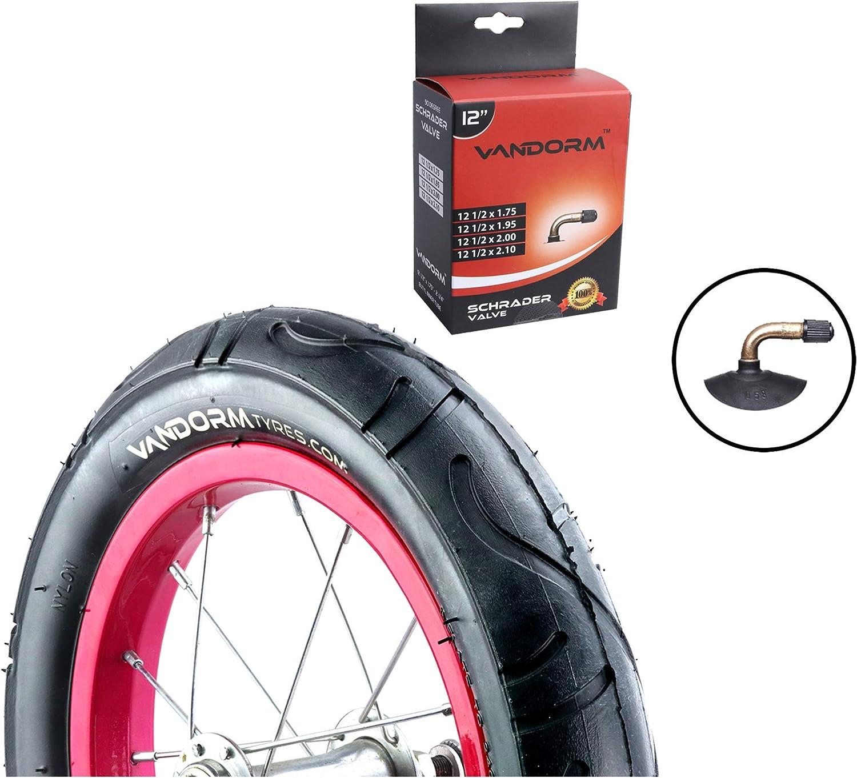 Vandorm 12 Slick Buggy Pushchair Pram Tyres 57-203 Mini Slick Tyres
