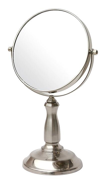 Amazon Com Bathsense Van1290sat Pedestal Vanity Circular Tilting