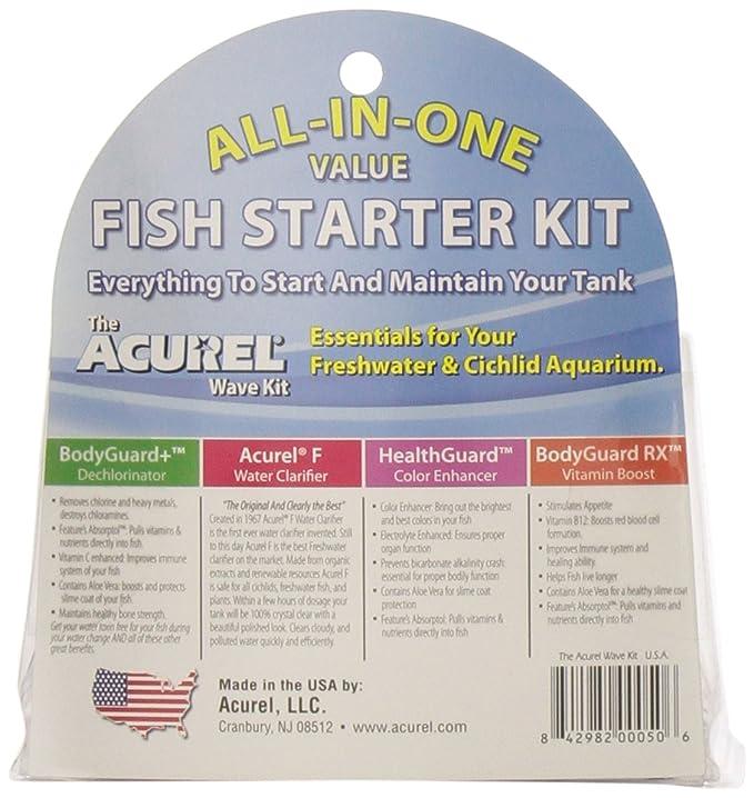 Amazon.com : Loving Pets Acurel Wave Fish Starter Kit for Aquariums : Pet Supplies