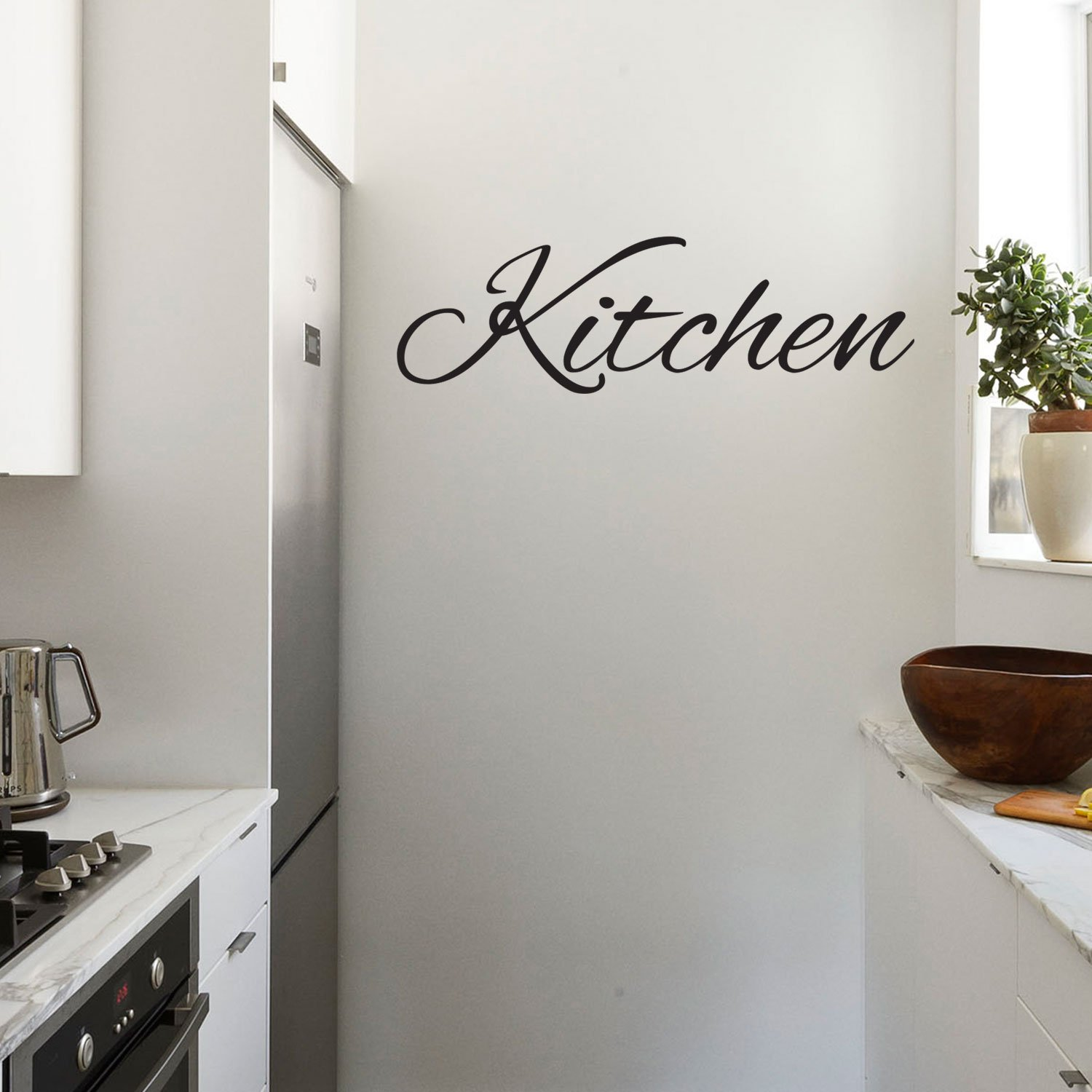 Amazon Com Kitchen Sign Quotes Wall Art Vinyl Decal 10 X 28