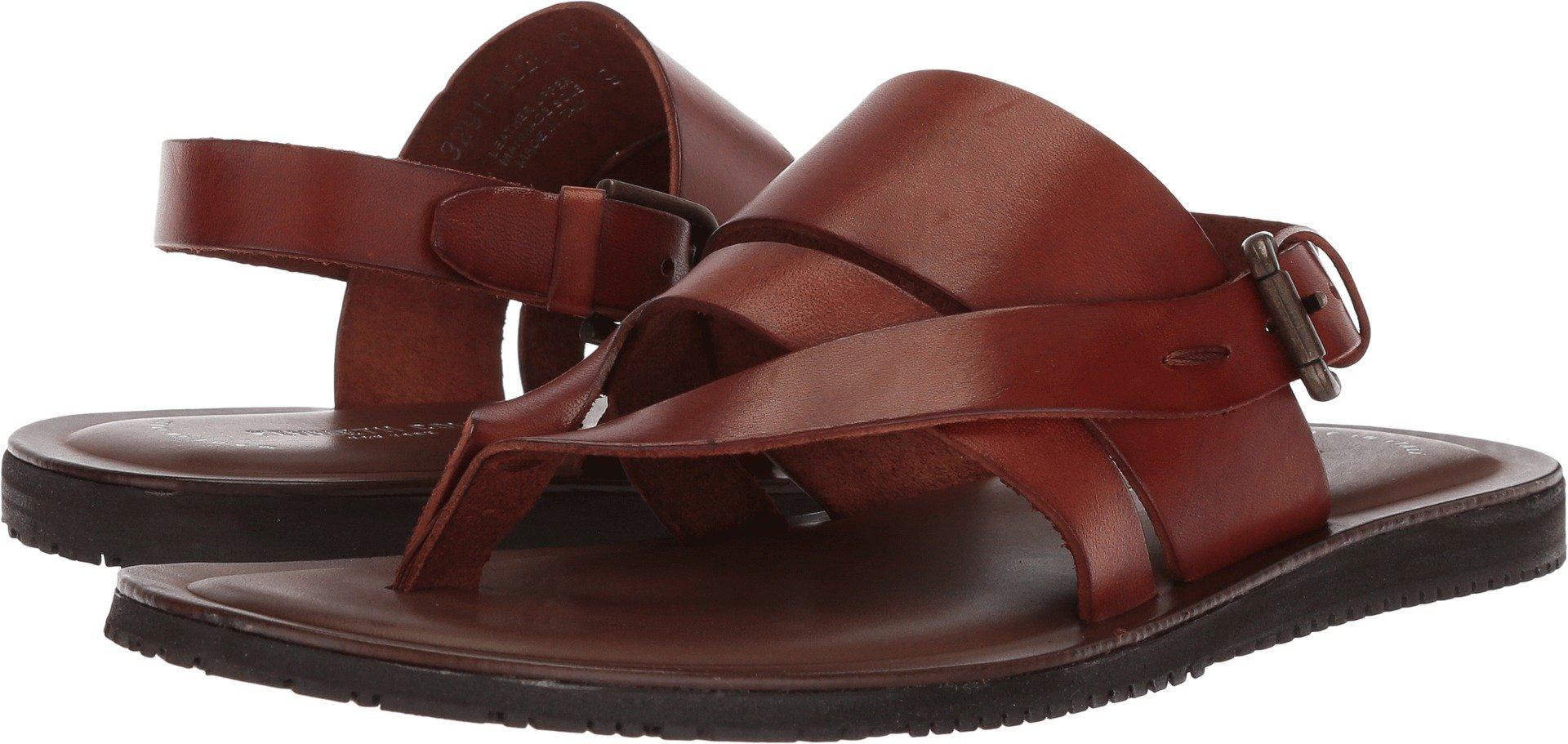 Kenneth Cole New York Men's Reel-IST Flat Sandal, Cognac, 10 M US