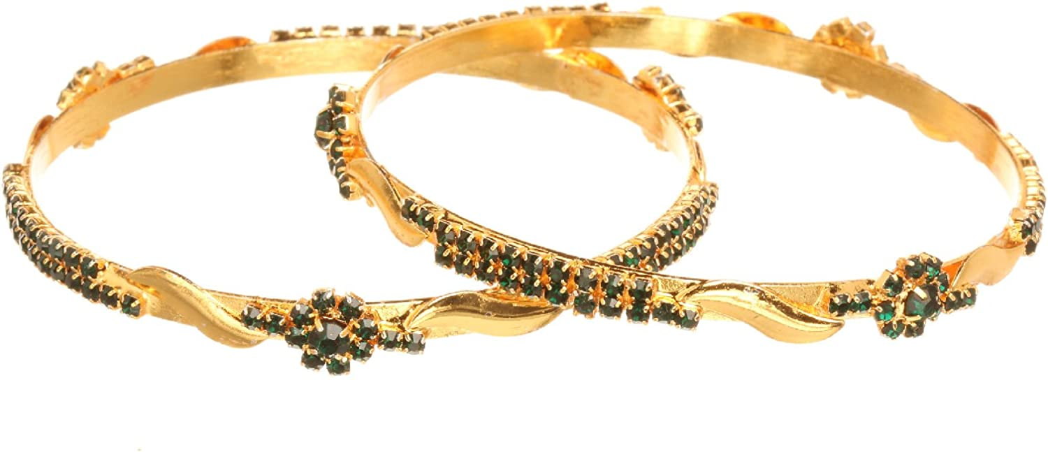 Wedding Kundan Bangle Set Jewelry Indian Traditional Indian Party Bangle Bracelet Jewelry 2.8