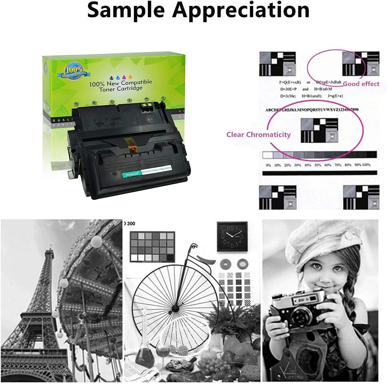 1 Black NineLeaf Compatible Toner Cartridge Replacement for HP 42X Q5942X Laserjet 4250 4250DTN 4250DTNSL 4250N 4250TN 4350 4350DTN 4350DTNSL 4350N 4350TN Laser Printer