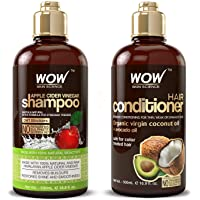 Deals on WOW Apple Cider Vinegar Shampoo & Hair Conditioner Set