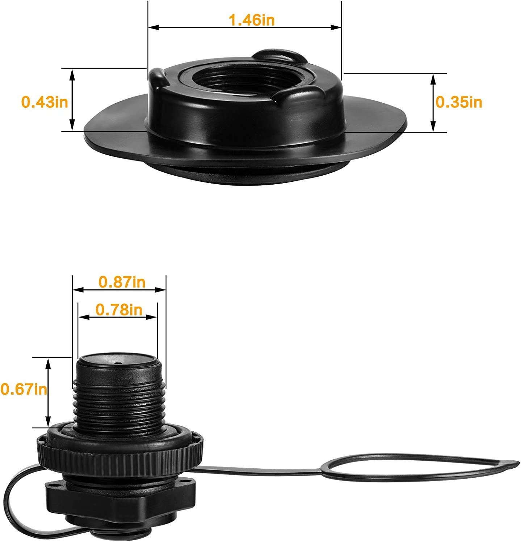 Amazon.com: Válvula de aire Zhanmai de repuesto para válvula ...
