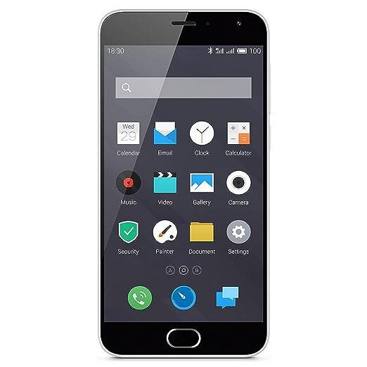 """230 opinioni per Meizu M2 Smartphone, 5"""" Full HD, 4G, 16 GB, Dual SIM, Bianco [EU]"""