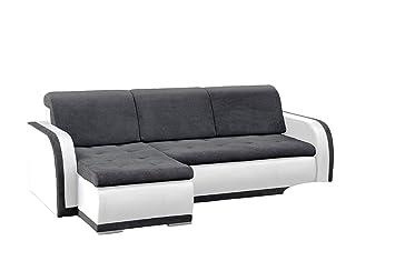 Prächtig mb-moebel kleines Ecksofa Sofa Eckcouch Couch mit Schlaffunktion @QV_31