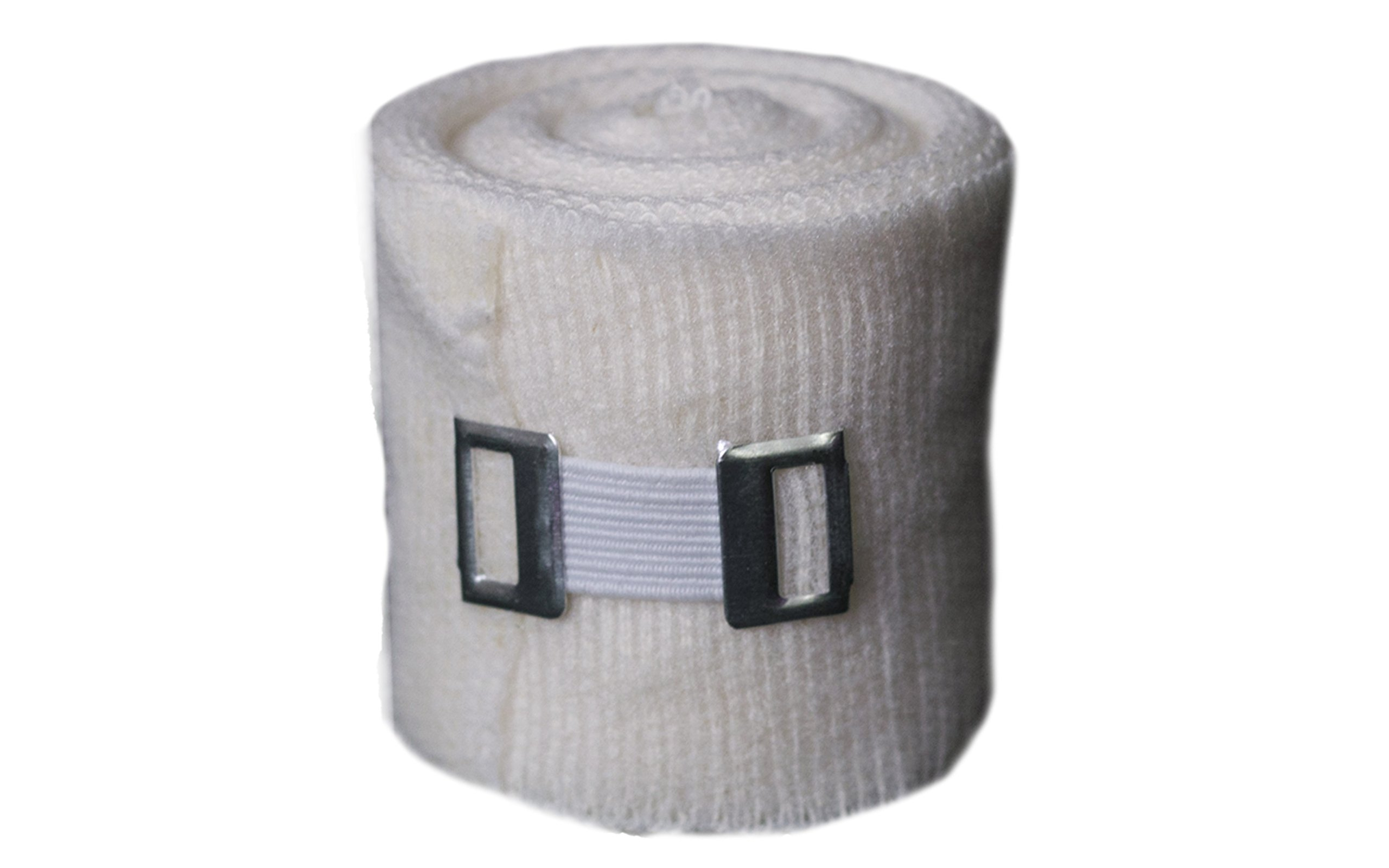 """Mexican Hand Wraps Gauze Pack Of 8 WHITE 7 X/"""" Sports"""