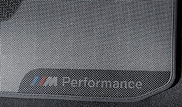M Performance Fußmatten Satz Hinten 3er F30 F31 M3 F80 4er F36 51472409932 Auto