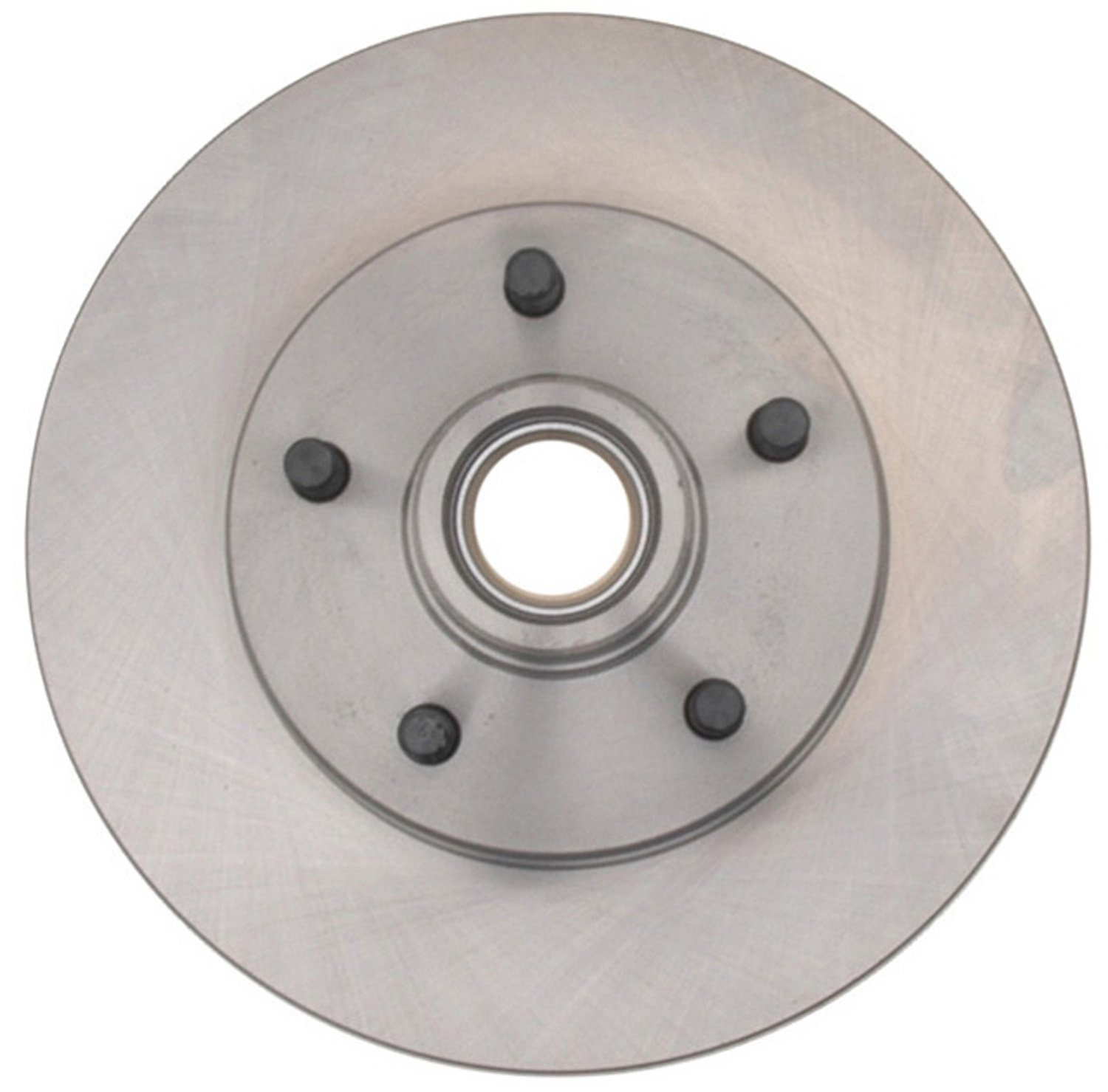 ACDelco 18A270A Advantage Non-Coated Front Disc Brake Rotor and Hub Assembly