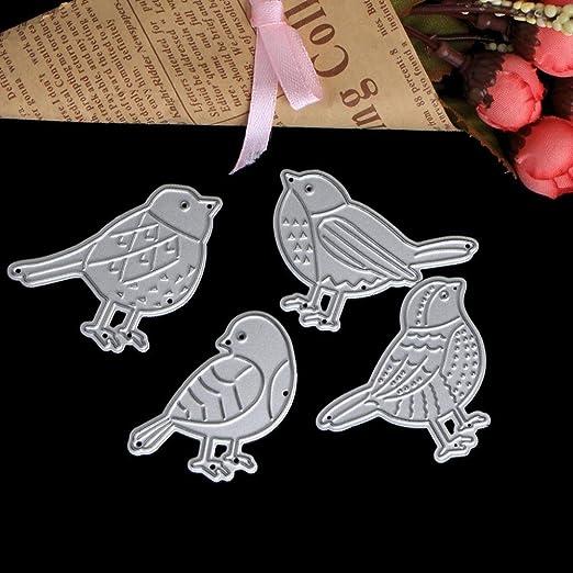 Birds Design Metal Cutting Die For DIY Scrapbooking Album Paper Cards LDUK