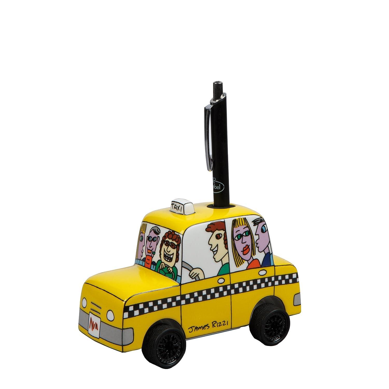 Goebel 26100073 James Rizzi Stiftehalter - Taxi to My Pen Pal B007BLVZGY Figuren