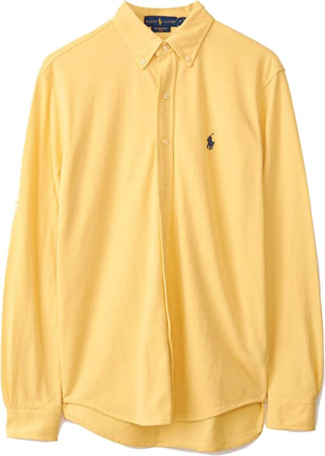 Polo Ralph Lauren camisa hombre mod. 710-654408 Amarillo ...