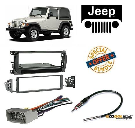 amazon com radio stereo install dash kit wire harness and antenna rh amazon com