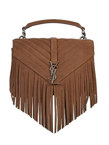 f9ca563cec Saint Laurent Women s Top-Handle Bag brown brown brown Size  One size