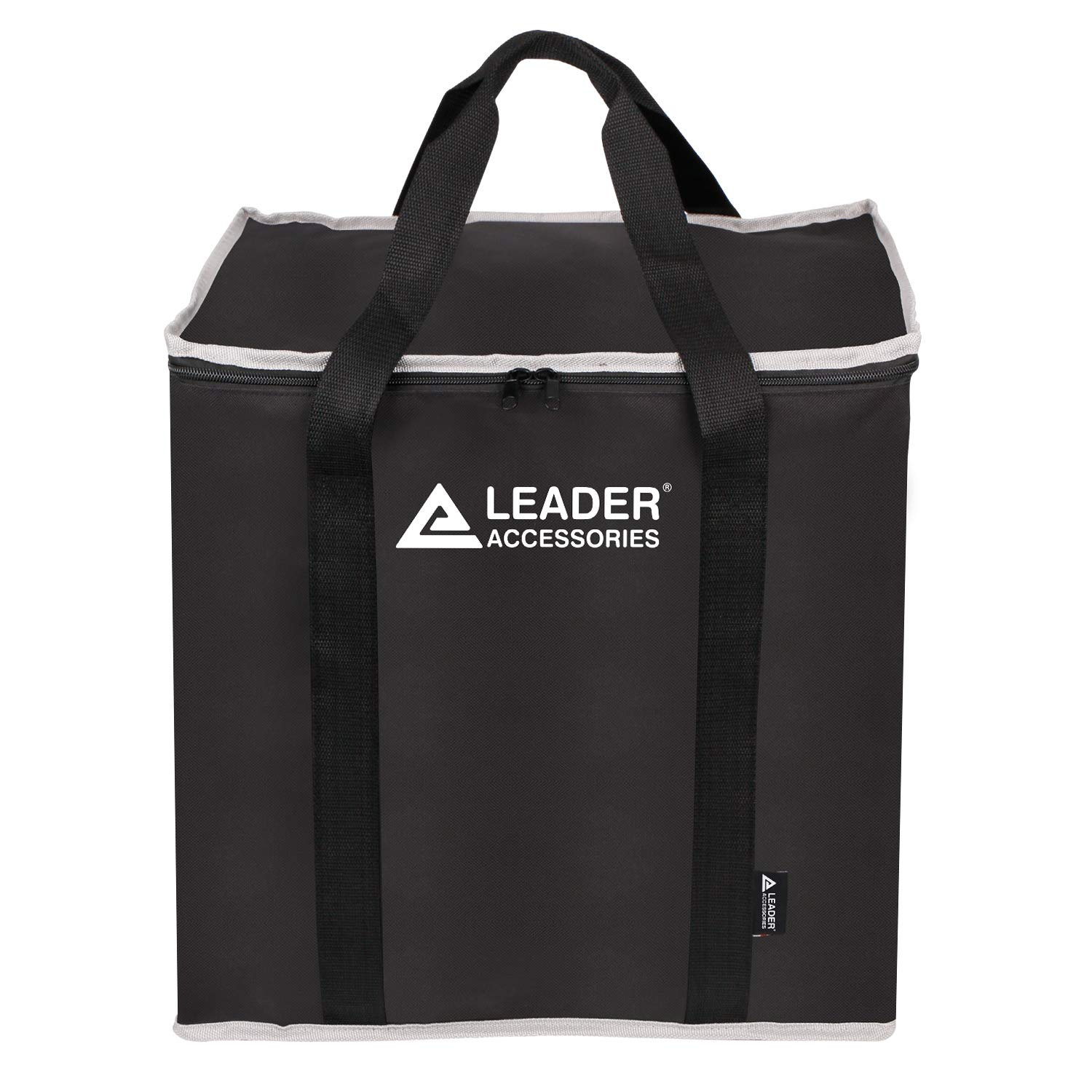 Leader Accessories Heavy Duty Waterproof Portable Toilet Storage Bag with Handles, Washable, Black by Leader Accessories