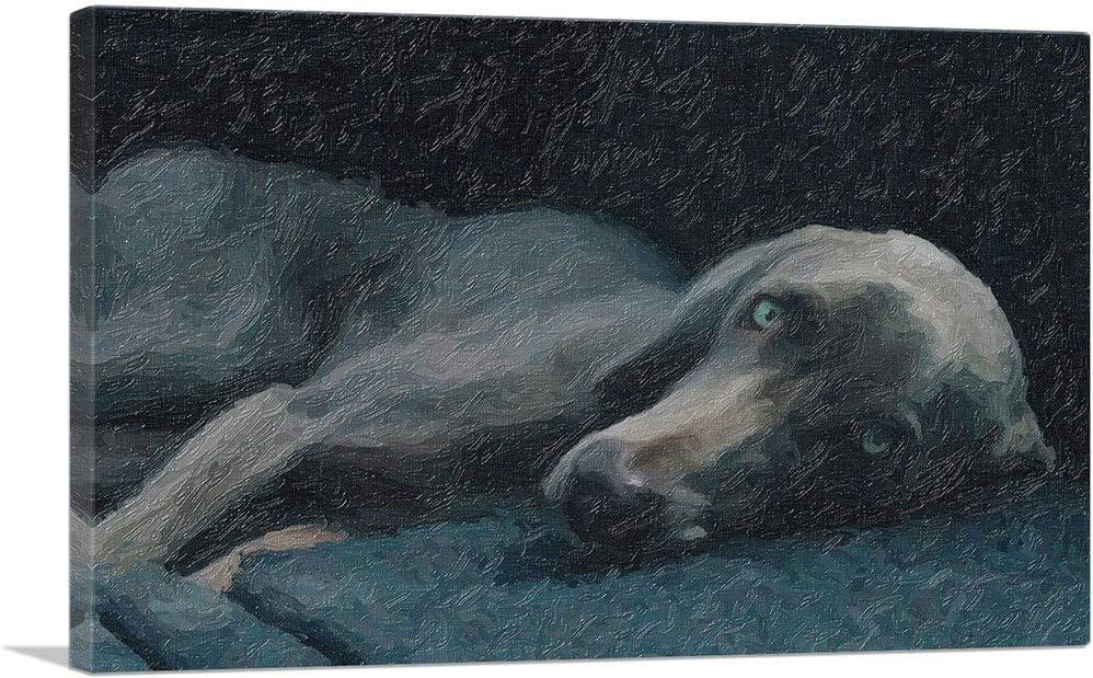 ARTCANVAS Weimaraner Dog Breed Canvas Art Brand new x Print 26