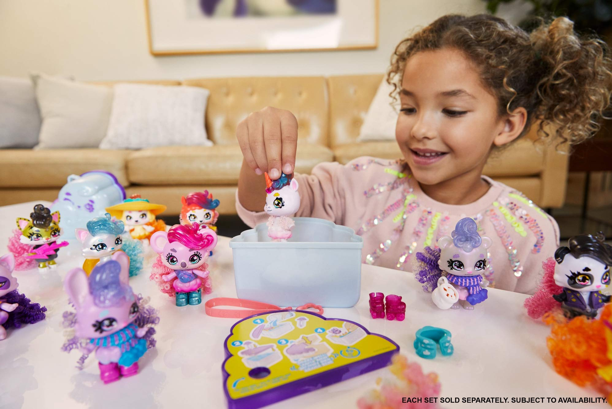 Mattel ​​Cloudees Cloud Themed Toy with Hidden Surprise, Interactive Cloud Toy with Accessories, Toys for Kids 4 and Up​