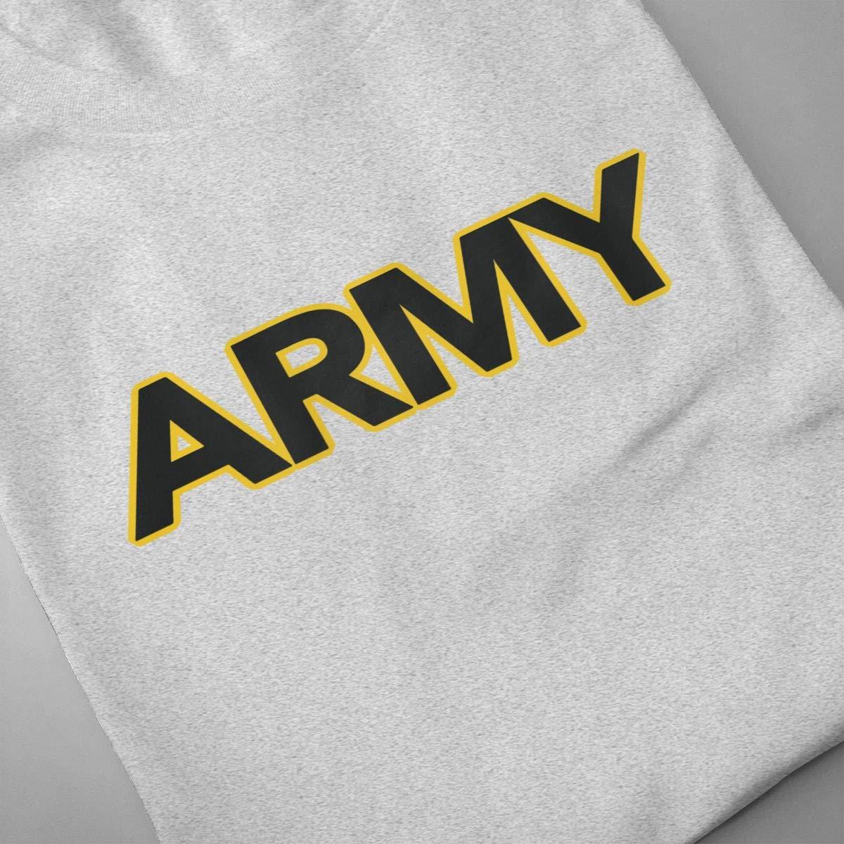 PatriciaMRoach Army LogoMen Fashion Short Sleeve T-Shirt