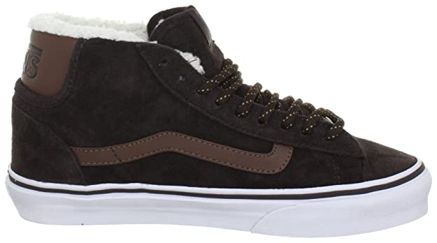 Vans Mid Skool  77 Trainers Unisex-Adult Brown Braun ((Pig Suede Fleece)  brown) Size  44.5  Amazon.co.uk  Shoes   Bags 6ce152c20