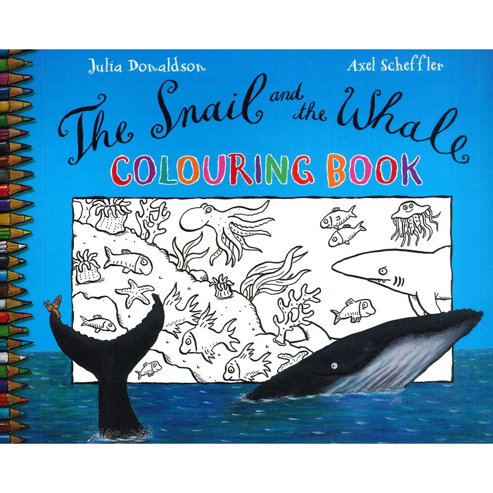 Download Snail and the Whale Colouring Book pdf epub