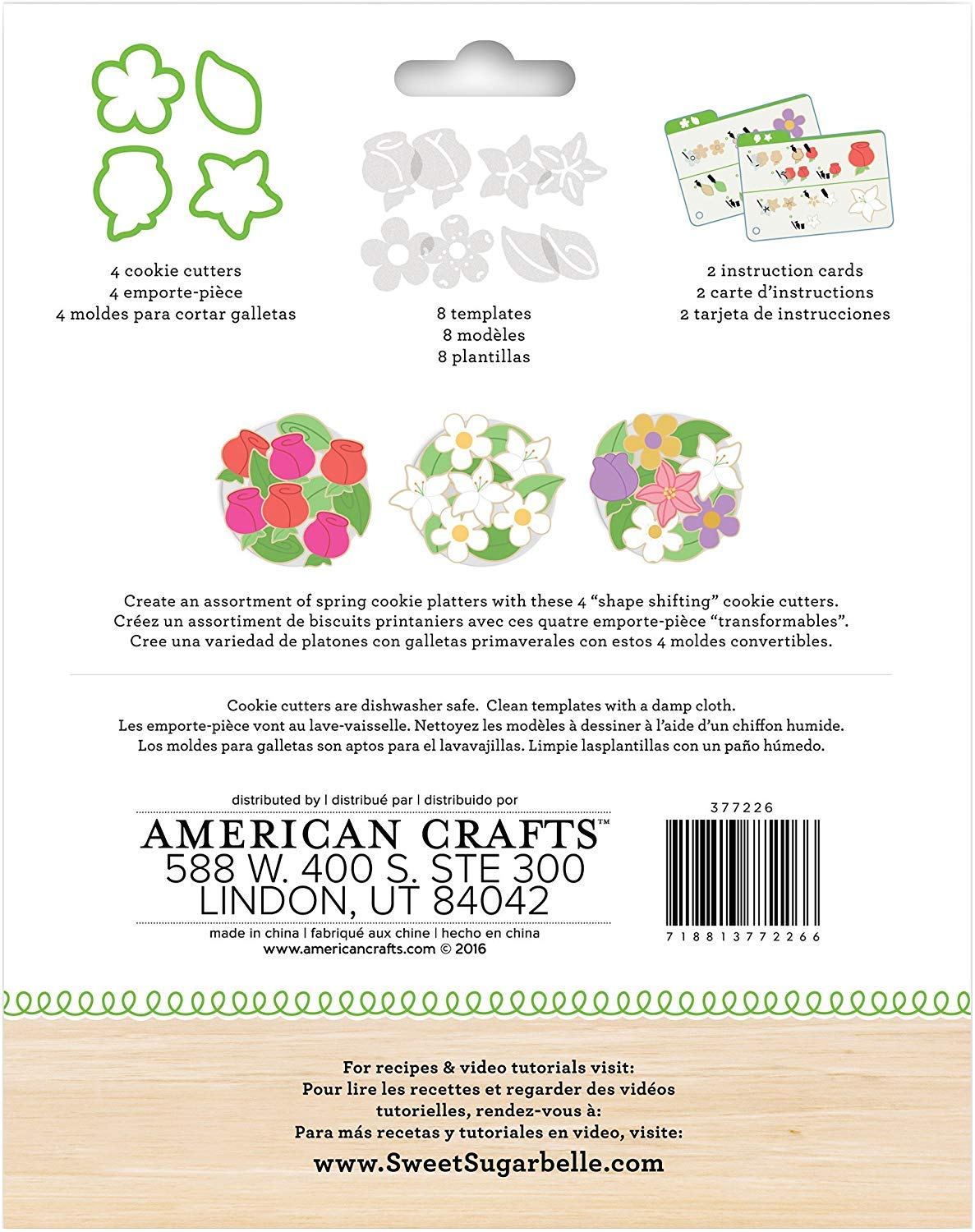 Amazon.com: American Crafts Sweet Sugarbelle 14 Piece Spring ...