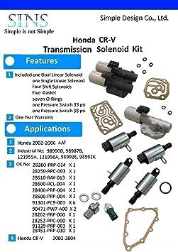 Amazon com: Honda CR-V 02-04 Transmission Solenoid Pressure