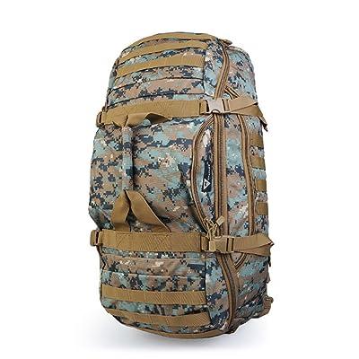 Xuan - worth having Four-en-un voyage en plein air randonnée sac à dos sac à bandoulière sac à main grande capacité camping plein air sac à dos raisonnable espace de distributi