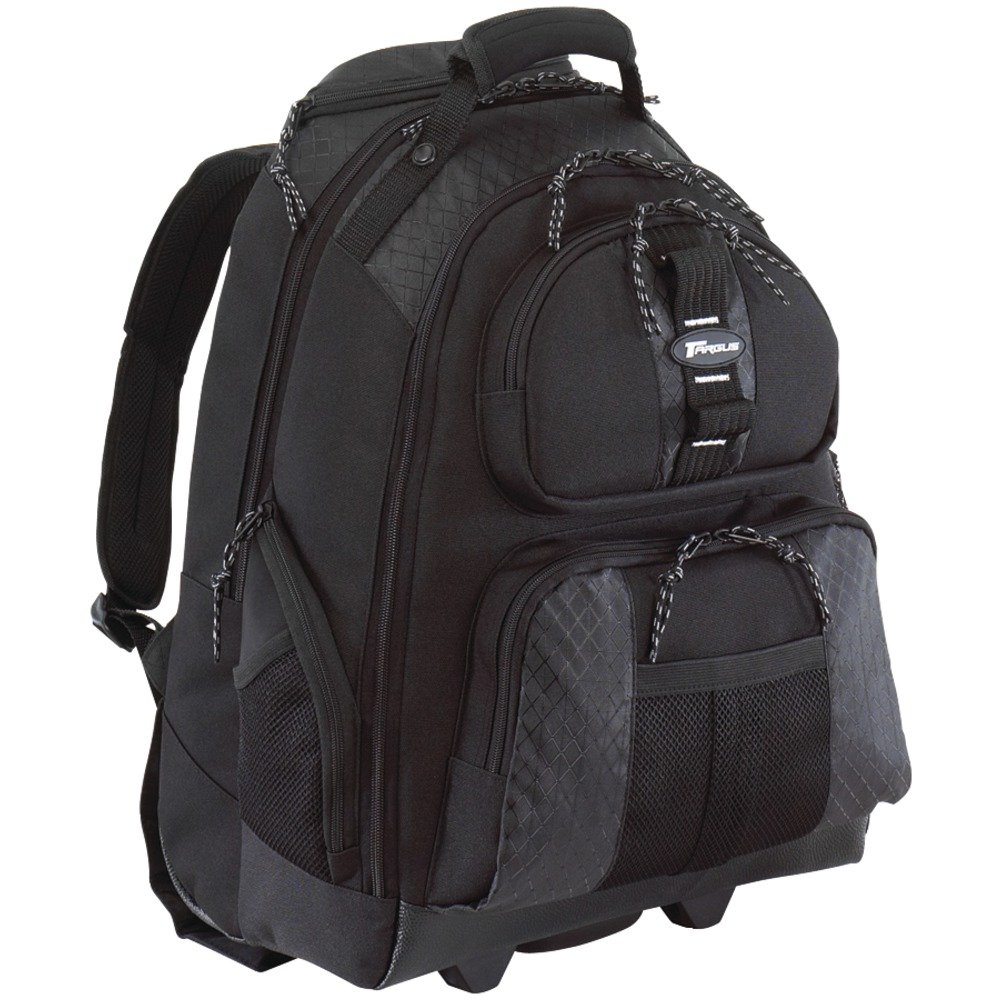 Amazon.com: Targus Sport Rolling Backpack Case Designed for 15.4 ...