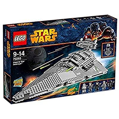 LEGO Star Wars Imperial Star Destroyer Kids Building Playset | 75055: Toys & Games