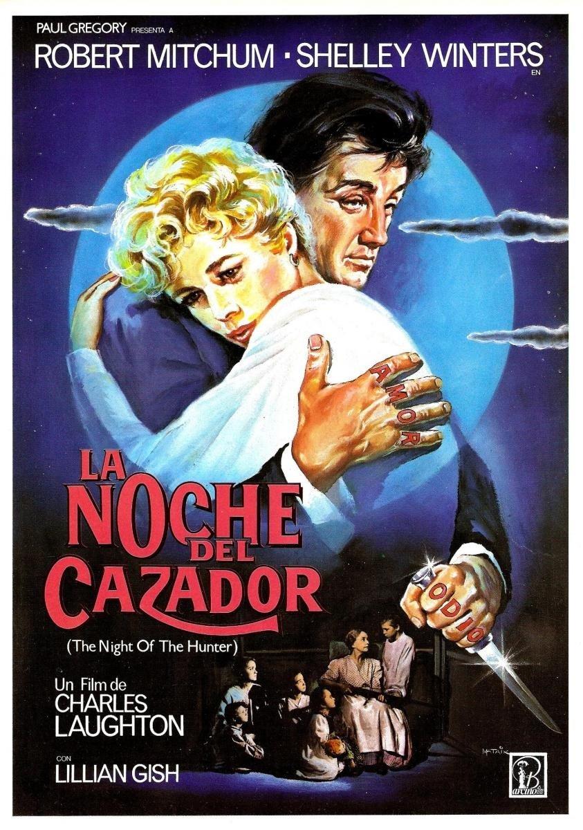 Amazon.com: La Noche Del Cazador (Blu-Ray) (The Night Of The ...