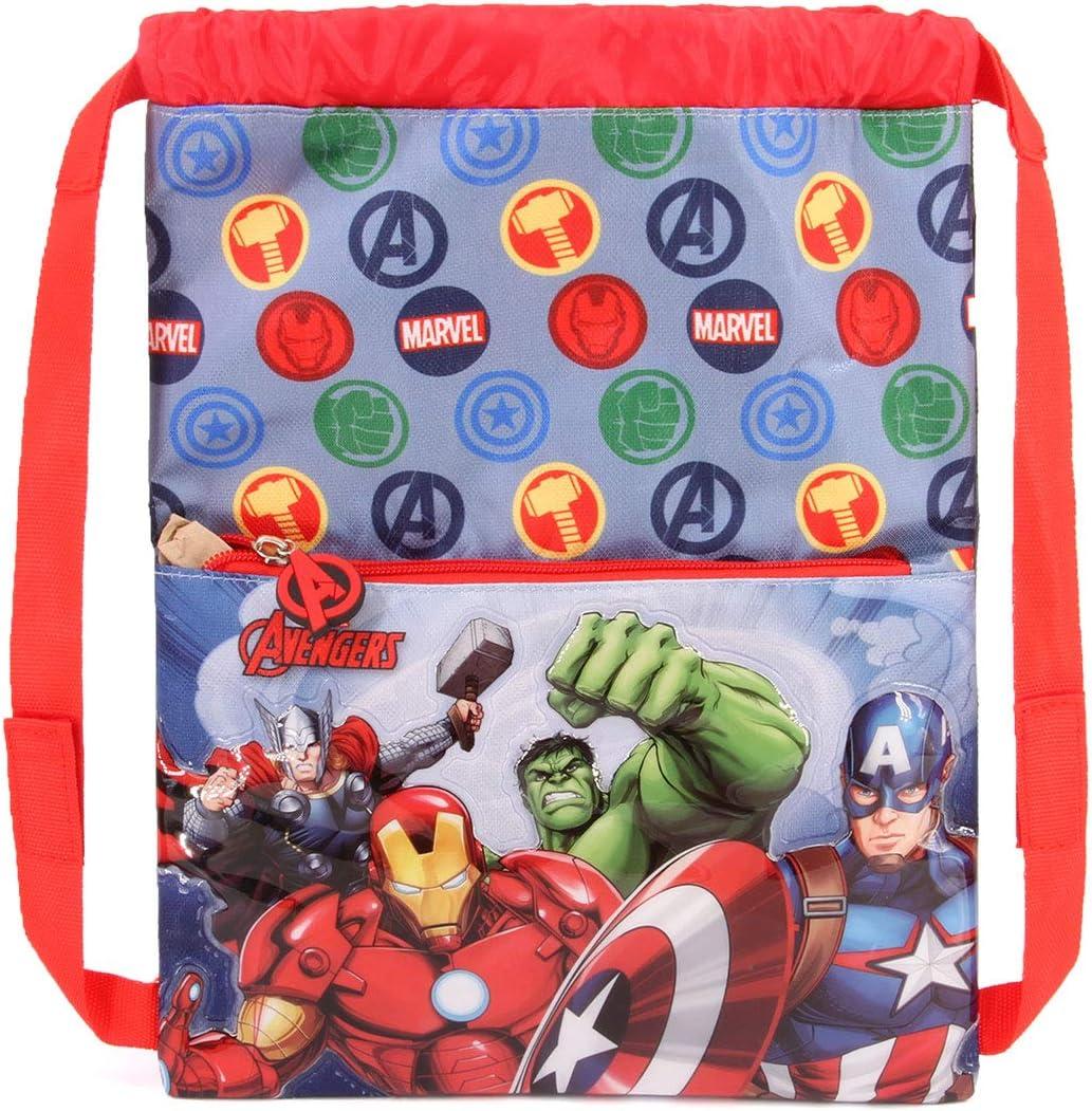Karactermania The Avengers Force-Strap Turnbeutel Sac /à Cordon Multicolour Multicolore 41 cm