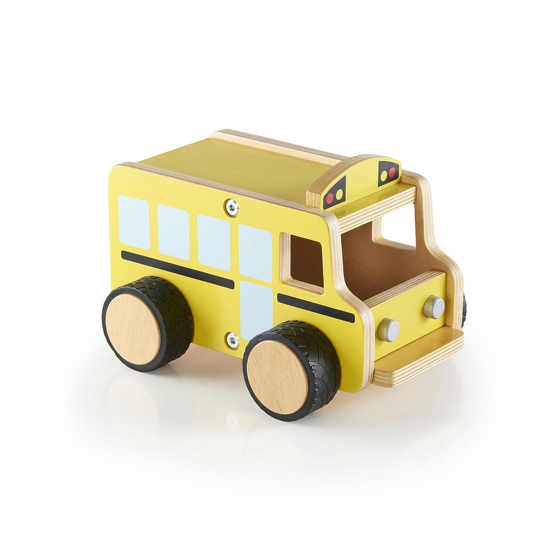 Guidecraft Autobús Escolar de Contrachapado G7511