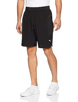 Liga PantsHombreBlancowhite Puma blackM Shorts Gris Amazon nNk0wPX8O